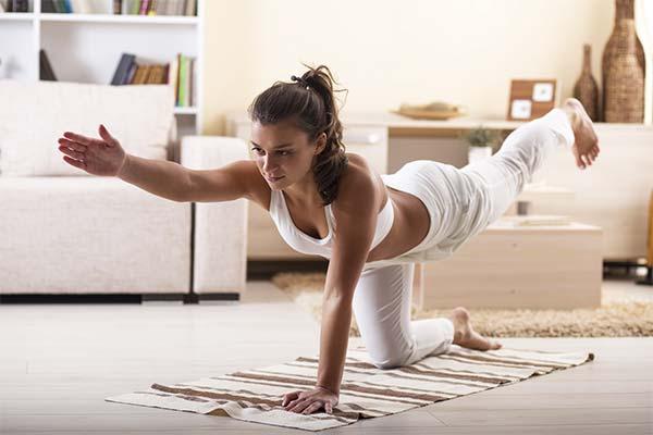 Физические упражнения для быстрых месячных