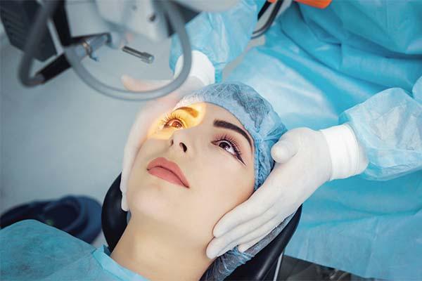 Как изменить цвет глаз с помощью операции