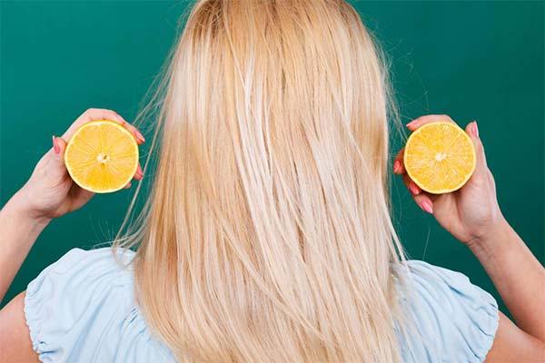 Как лимон влияет на волосы