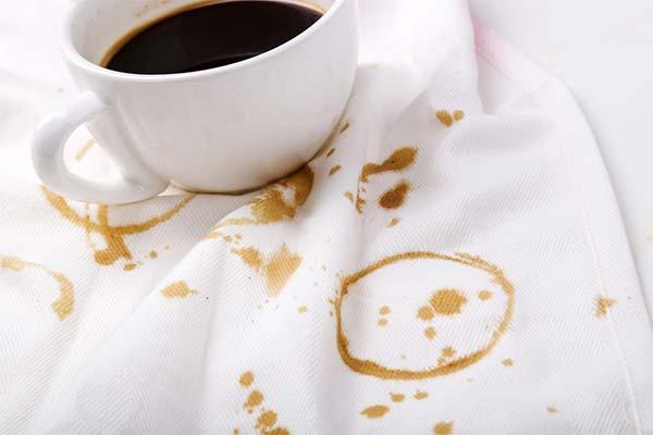 Как отстирать полотенца от пятен кофе и чая