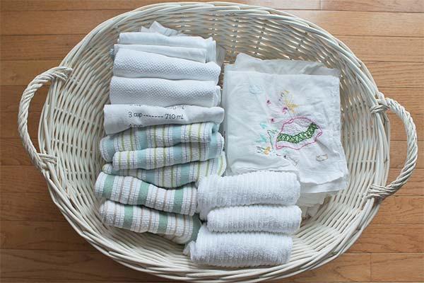 Как сохранить надолго свежесть полотенец