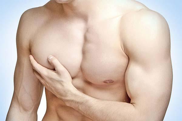 Как увеличить грудь мужчине