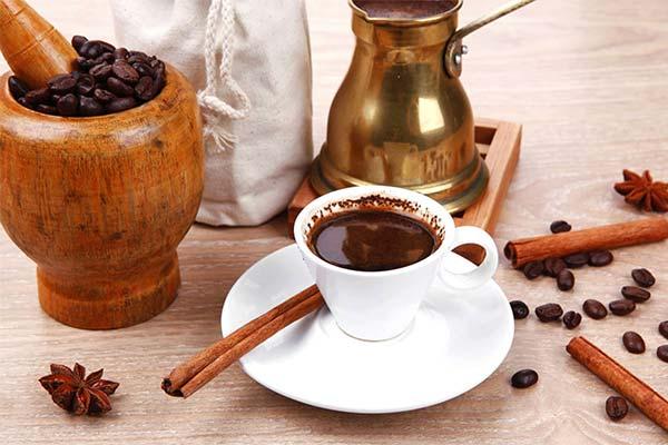Как варить кофе в турке с корицей