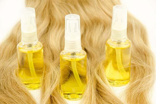 Осветляющее масло для волос
