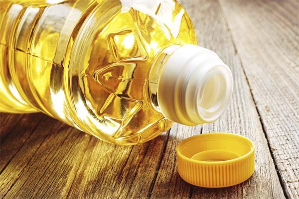 Растительное масло для отбеливания вещей