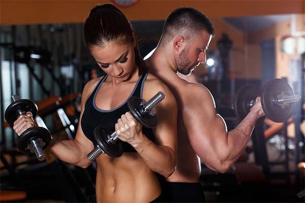 Упражнения для мужчин и женщин