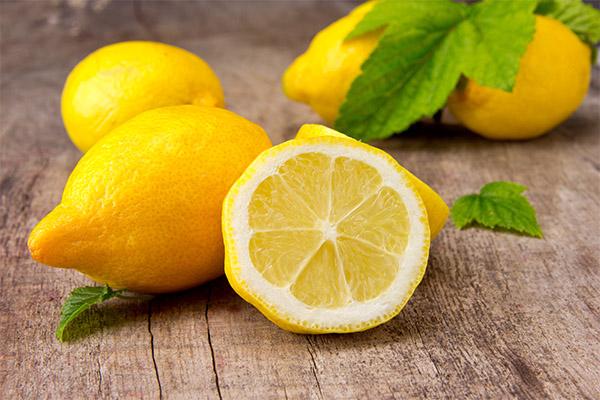 Витаминный состав лимона