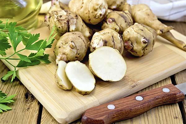 Как приготовить и с чем сочетать в блюдах топинамбур