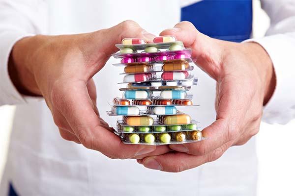Лечение онемения губ медикаментозными препаратами
