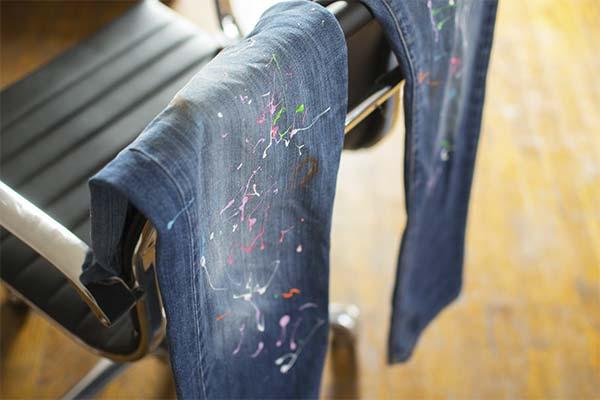 Особенности удаления краски с разных видов ткани